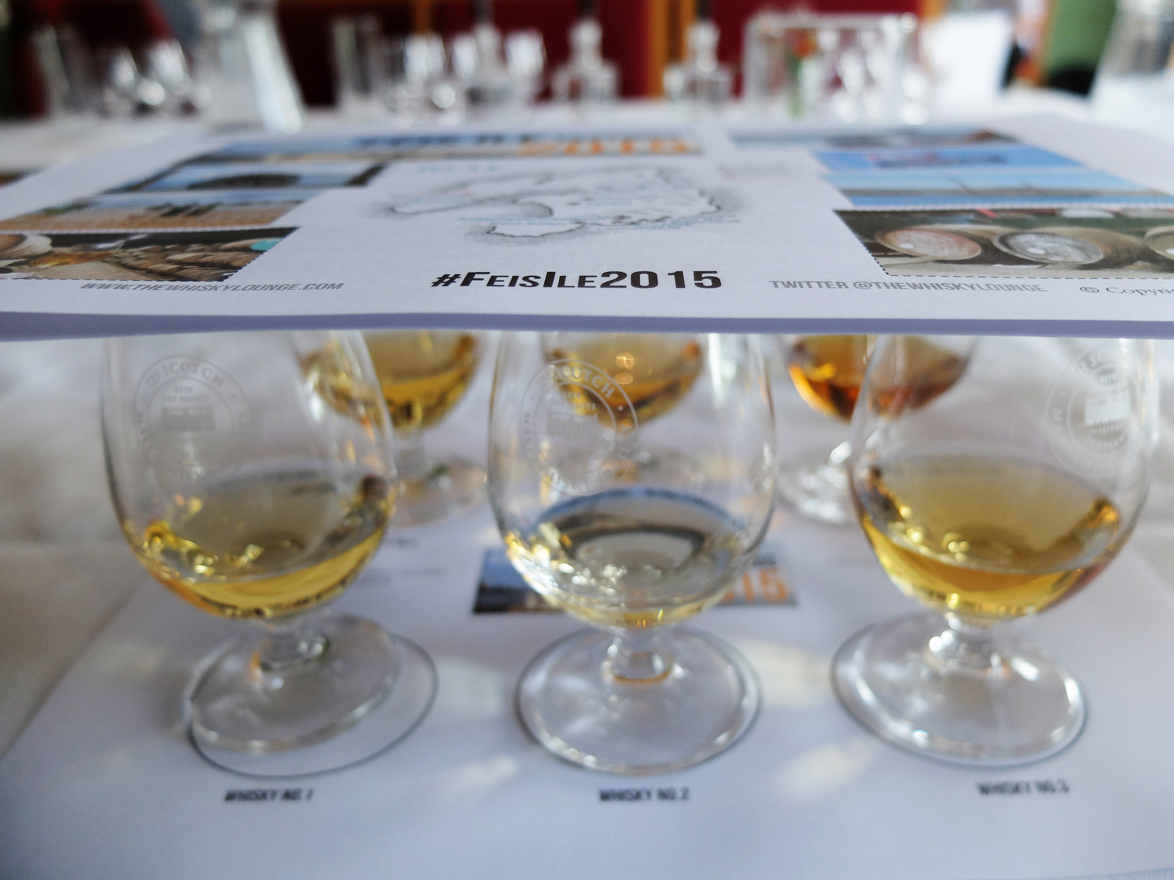 Feis Ile 2015 tasting