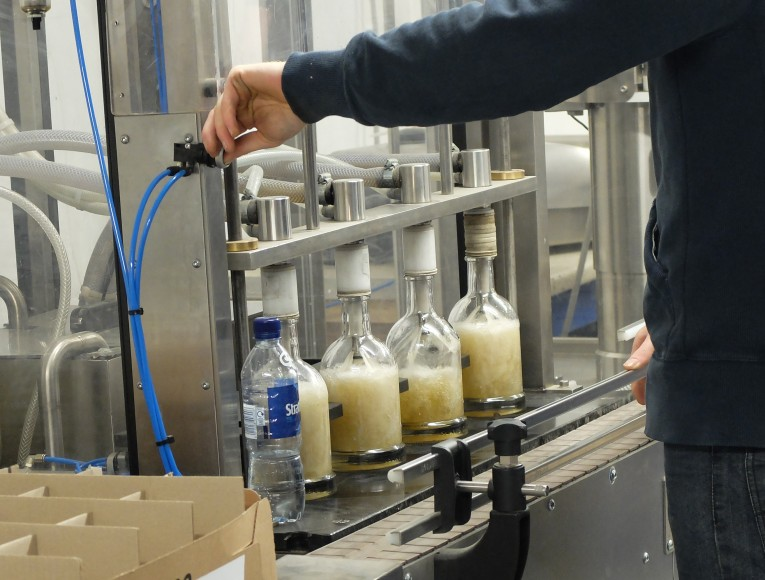 Kilchoman bottling plant
