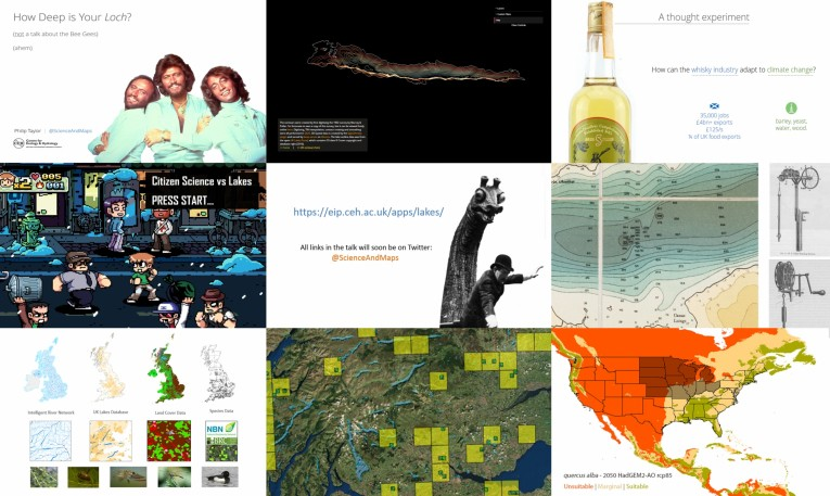 A selection of slides from my recent talks, 2016-17