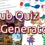 Pub Quiz Generator